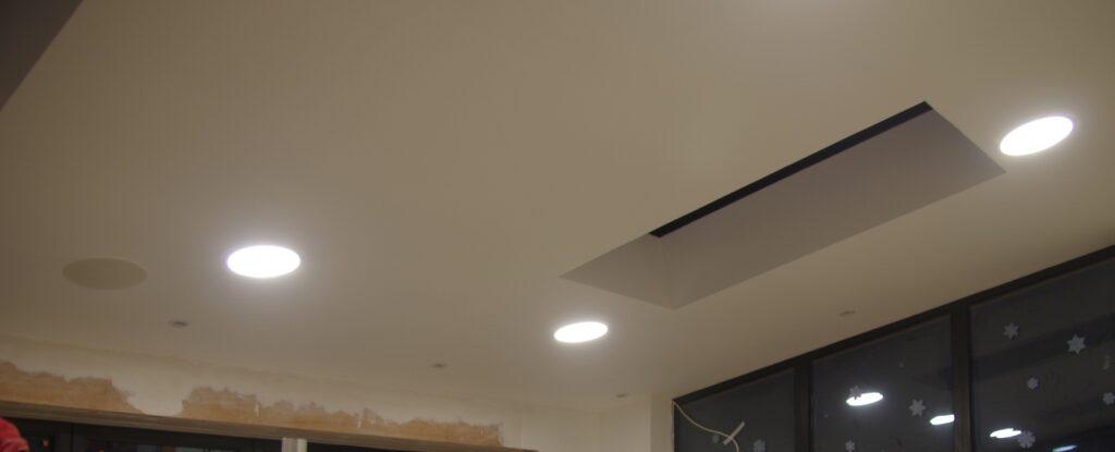 Main panel lights